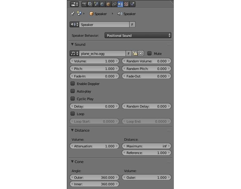 Audio — Blend4Web 18 05 0 User Manual