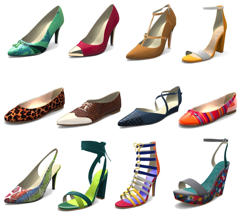 Made in Me: Online Shoe Customizer | Blend4Web