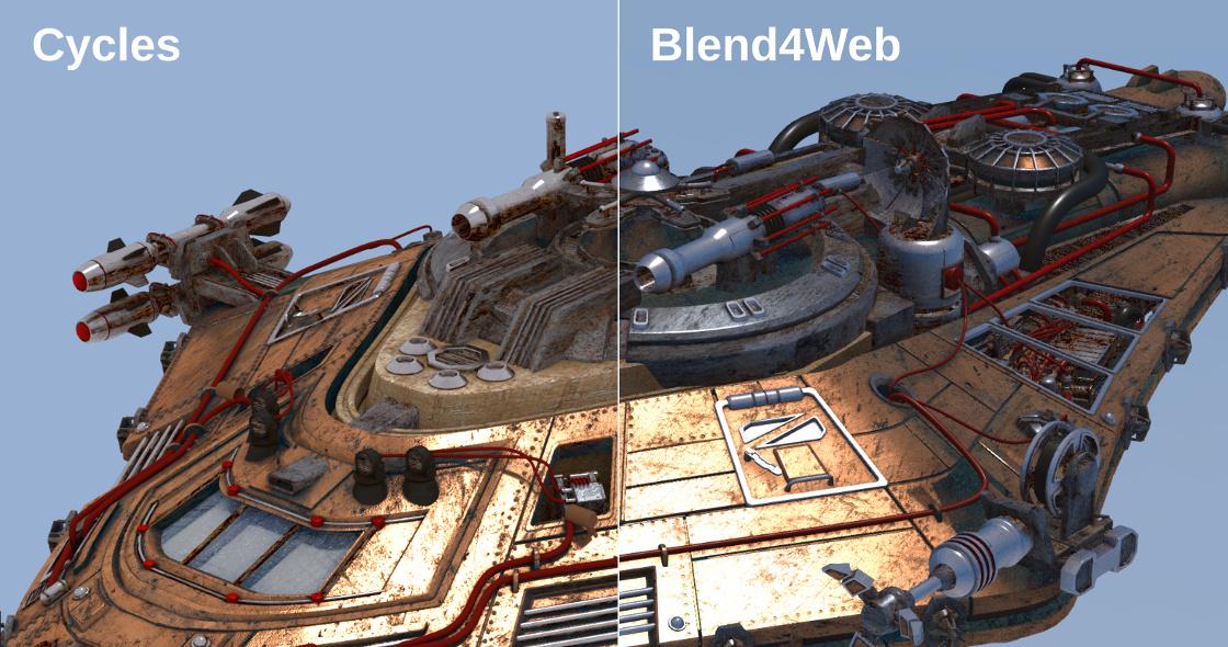 Blend4Web 16 11 Released | Blend4Web
