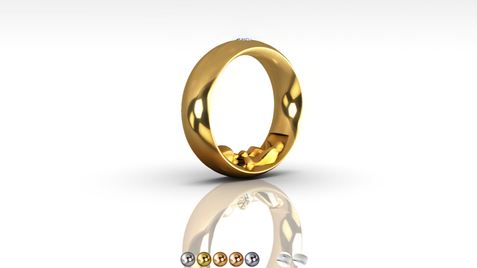 Jewelry 3D Configurator preview