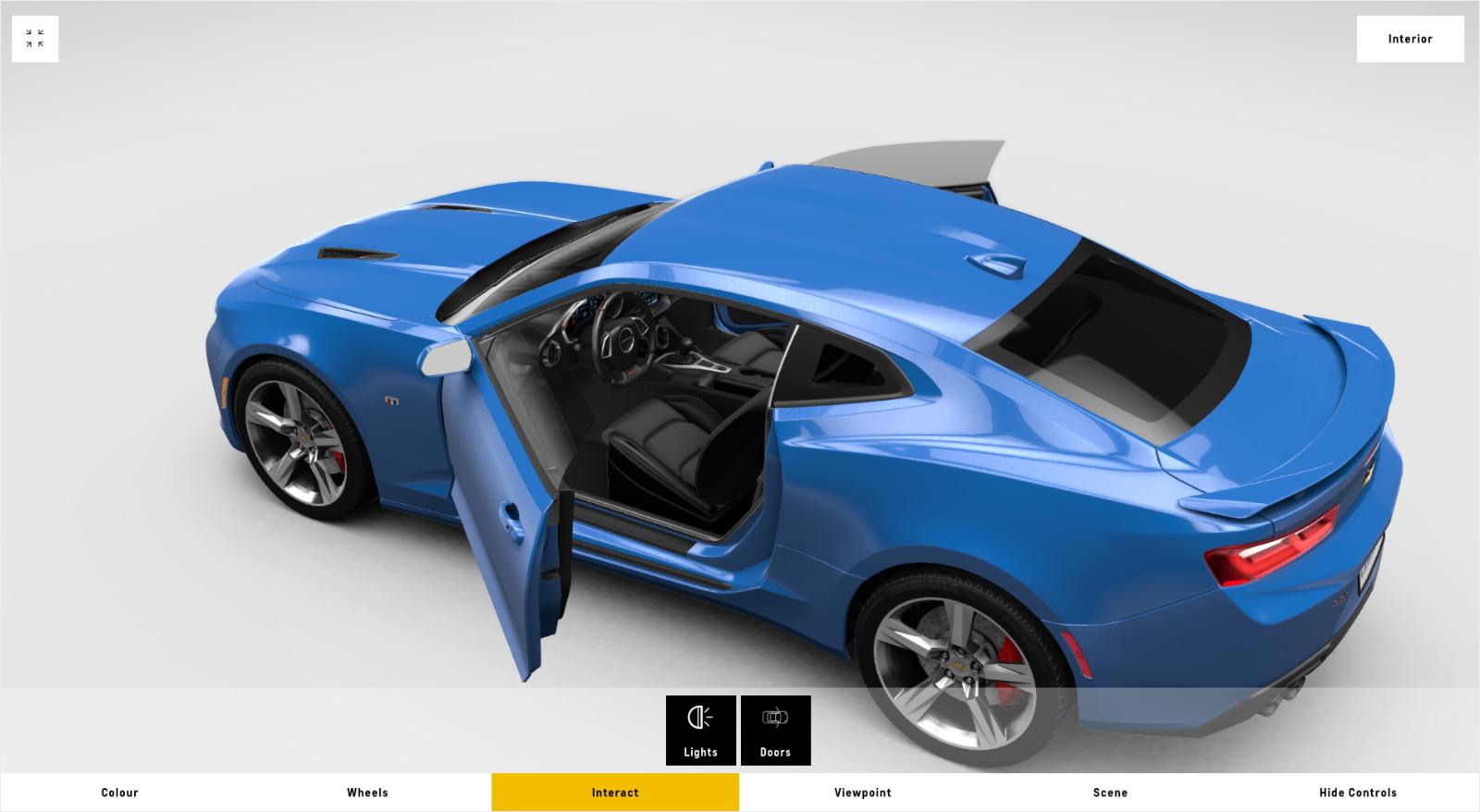 Contact Marick Auto Sales LLC: Chevrolet 3D Car Configurator