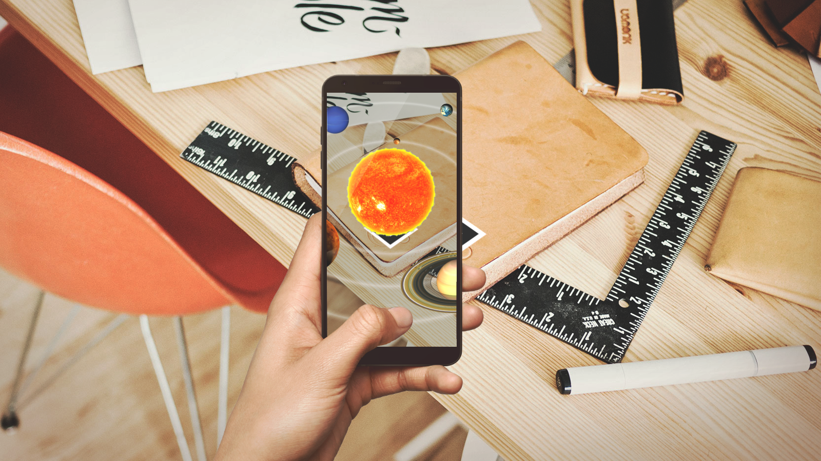 Solar System AR preview