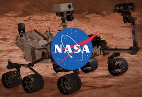 Blend4Web, NASA and the Curiosity Rover