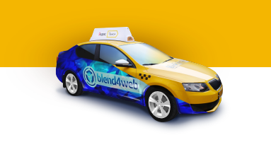 Blend4Web and Yandex.Taxi: Street Art On Board