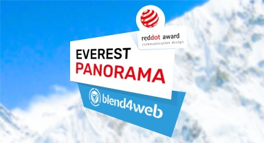 Blend4Web-Powered Project Won a Red Dot Award!