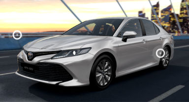 Toyota Camry 3D Configurator
