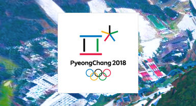 3D Voyage Through The Sport Complexes of 2018 Olympic Games